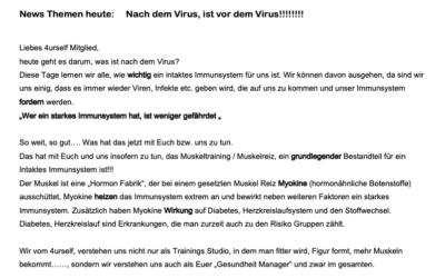 Nach dem Virus, ist vor dem Virus!